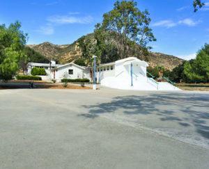 Los Angeles Triunfo Temple Blacktop